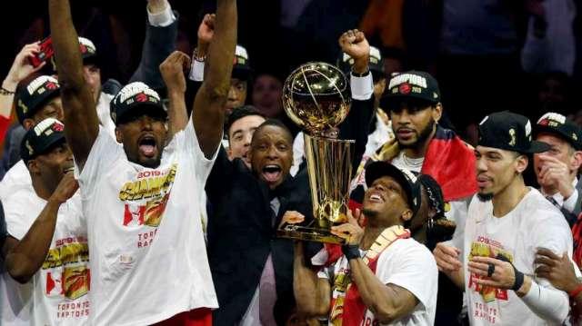 TORONTO RAPTORS SON CAMPEONES DE LA NBA!