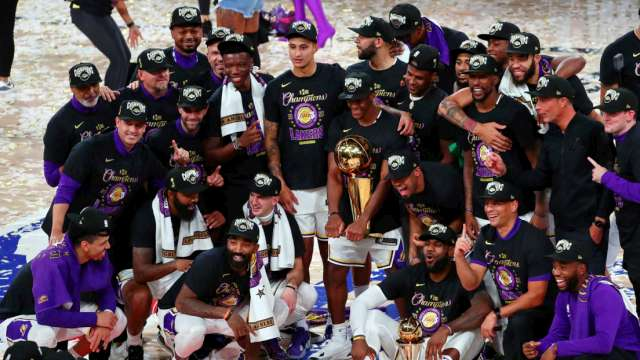 LOS ANGELES LAKERS SON LOS CAMPEONES DE LA NBA 2020